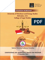 UPES' Litigation Workshop