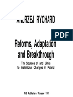 Andrzej Rychard 1993, Reforms Adaptation and Breakthrough