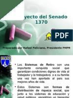 Retiro de Maestros ppt Federación de Maestros proyecto_senado_1370