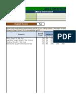 Ssr Stock Analysis Spreadsheet