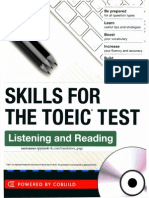 03) Skills for the TOEIC Test Listening and Reading
