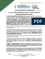 143884_Pregao Presencial n 046-14 - Prestacao de Servicos Fornecimento Pecas - Nova Data 04-08