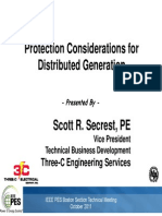 Protection Considerations for DG