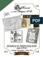 CATALOGO 008-01  JUDÍOS E INQUISICIÓN