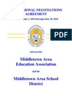 Middletown Area School District teachers contract