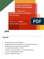 NIIF 15 Alvaro Artiles Sept 25 2015