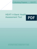 Bank Health Assessment Tool