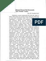 II. Abdülhamit Dönemi Türk Romanında Aşk-ı Memnu Teması