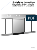 Dishwasher Install Directions