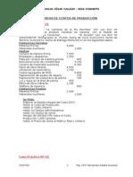 Casos Practicos Hoja de Costos de Producción