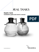 Septic Tank Installation Manual