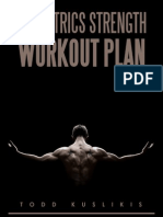 Isometrics Strength Workout Plan