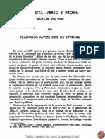 Revista verso y prosa