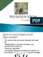 PSICOLOG+ìA SOCIAL, clase I