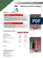 Extintor Co2 Gloria