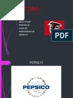 Pepsico Fmcg Ppt - Falcons