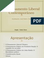 o Liberalismo Contemporâneo