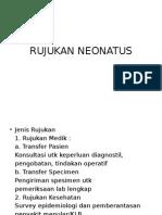 RUJUKAN NEONATUS