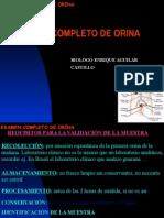 Examen Completo de Orina