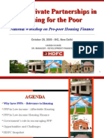10.Public Private Partnership in Housing for the Poor--HDFC.ppt