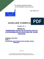 Remedierea defectelor instalatiilor si echipamente electrice de joasa tensiune.doc
