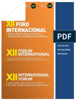 Horarios FORO FIT