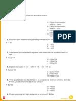 Evaluacion Semestral 1 Matematica 4º Básico