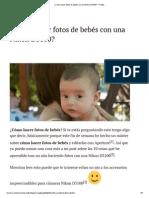 ¿Cómo Hacer Fotos de Bebés Con Una Nikon D5100_ - Protips