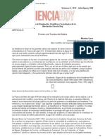 Ameghino CIENCIA HOY 47 - ARTICULO - Frente a La Tumba Del Sabio - 1