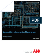System 800xA Information Management 6.0 Getting Started