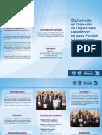 diplomado Gestion Agua y Saneamiento 2015
