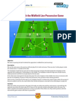 FCB Passing Midfield Possession Game