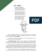 Autopsicografia- análise do poema de Fernando Pessoa ortónimo