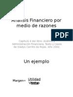 Análisis Financiero Por Medio de Razones