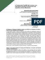 As Mudanças No Tratamento Contábil Do Leasing e Seus Reflexos Nos Indicadores Econômico-Financeiros Das Companhias Aéreas Brasileiras