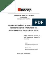 Sistema Informático de Gestión Para La Administración de Información Del Departamento de Salud Puerto Octay
