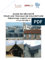 Dte 216 Guide Securite Travaux Couverture