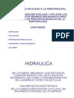HIDRAULICA de perforacion formularios