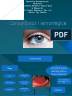 Conjuntivitis Hemorrágica ppt