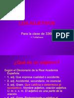 Los Adjetivos (1)