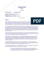 Cerafica vs COMELEC en Banc G.R. No. 205136 December 2, 2014