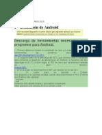 Programación en ANDROID 2015