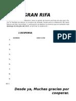GRAN-RIFA