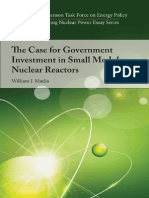 The Case for Government Investment in Small Modular Nuclear Reactors, by William J. Madia