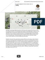 Combining two concepts into one for a more dynamic play | Youth Football | USA Football | Football's National Governing Body
