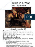 Bible in a Year 19 NT John 9 to John 16