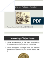 3. Laws Related to Our Philippine Monetary System