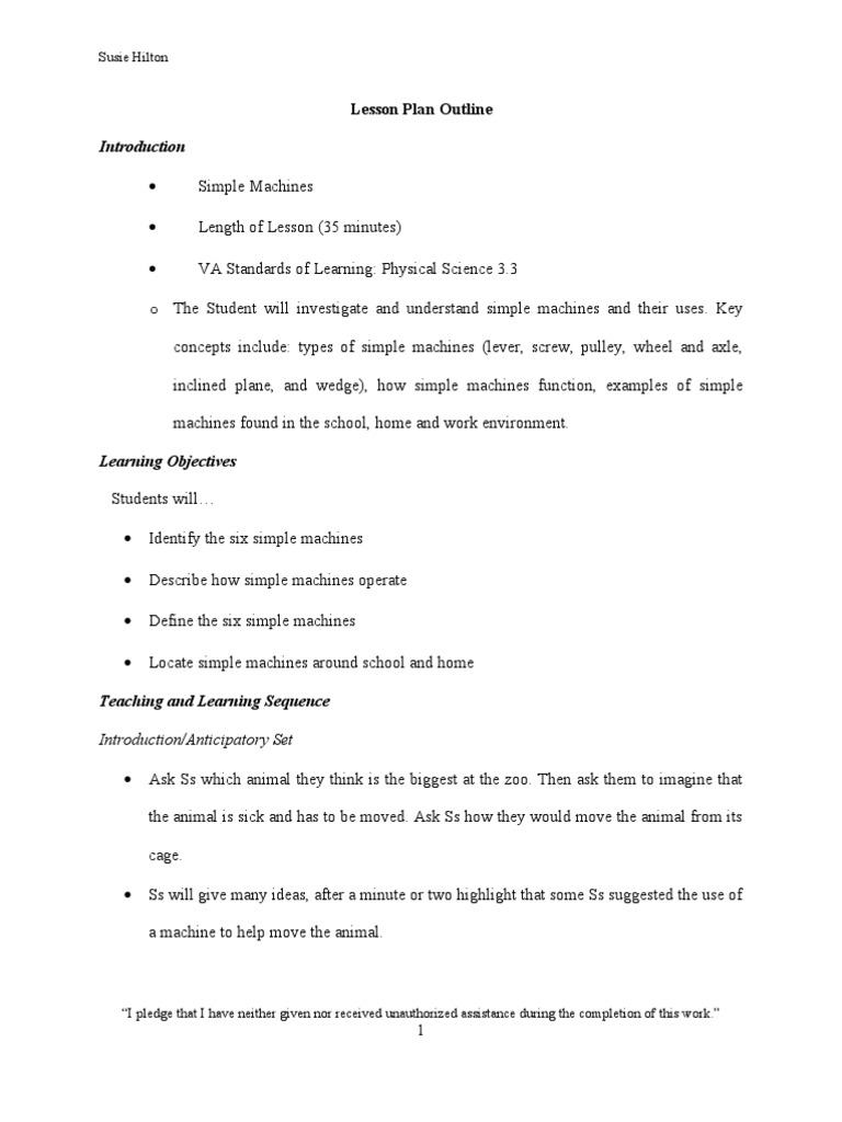 worksheet Simple Machines Matching Worksheet simple machines lesson plan lever