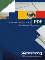 Manual Instalacion de Techo Acustico