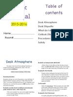 anacapa desk manual 14-15